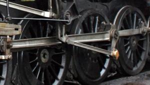 Black Prince driving wheels
