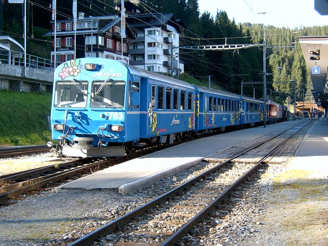 Arosa Express at Arosa 13.09.2007