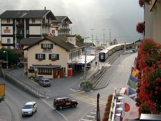 BOB station Grindelwald 04-09-2004
