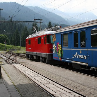 Ge 4.4ii 612 Thusis at Langweis Chur-Arosa 16.09.2007