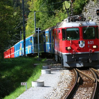 Ge 4.4ii 621 Felsberg Lüen-Castiel Arosa line 20.09.2007