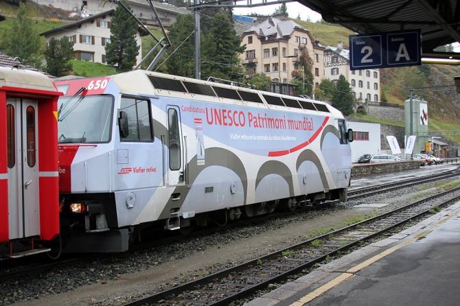 Ge 4.4iii 650 Seewis im Prättigau Unesco St Moritz 18.09.2007