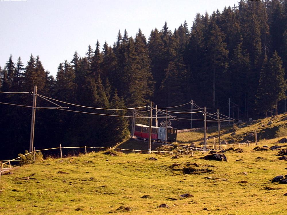 Climb to Schynige Platte 09.09.2004